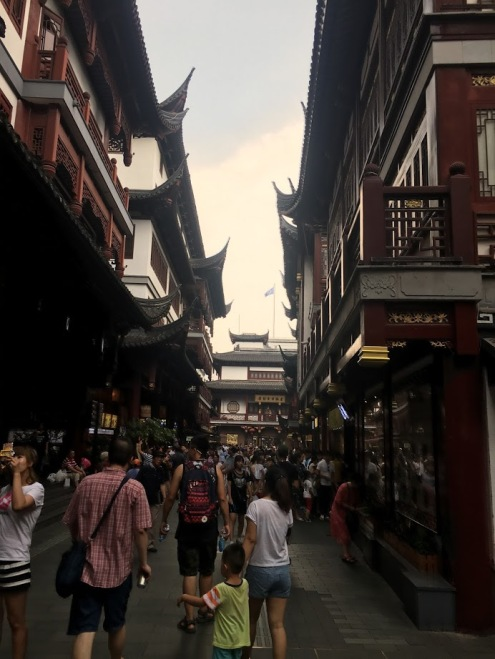 Shanghai Old Town Shopping
